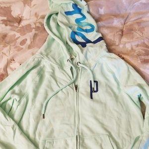 Victorias secret PINK green hoodie